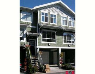 """Photo 1: 74 15168 36TH Avenue in Surrey: Morgan Creek Townhouse for sale in """"Solay"""" (South Surrey White Rock)  : MLS®# F2723651"""