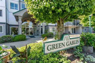 """Photo 1: 210 32044 OLD YALE Road in Abbotsford: Abbotsford West Condo for sale in """"Green Gables"""" : MLS®# R2375417"""