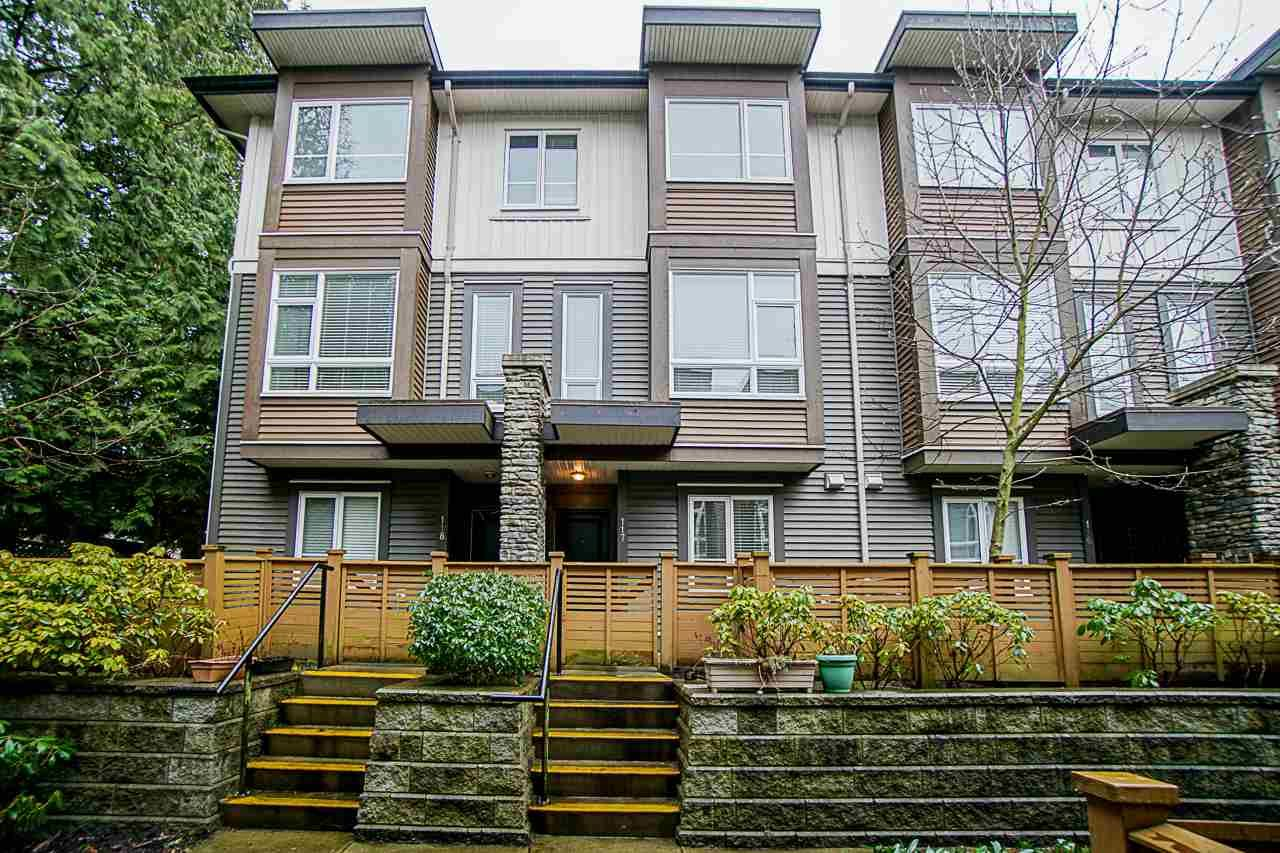 "Main Photo: 117 5888 144 Street in Surrey: Sullivan Station Townhouse for sale in ""ONE 44"" : MLS®# R2540320"