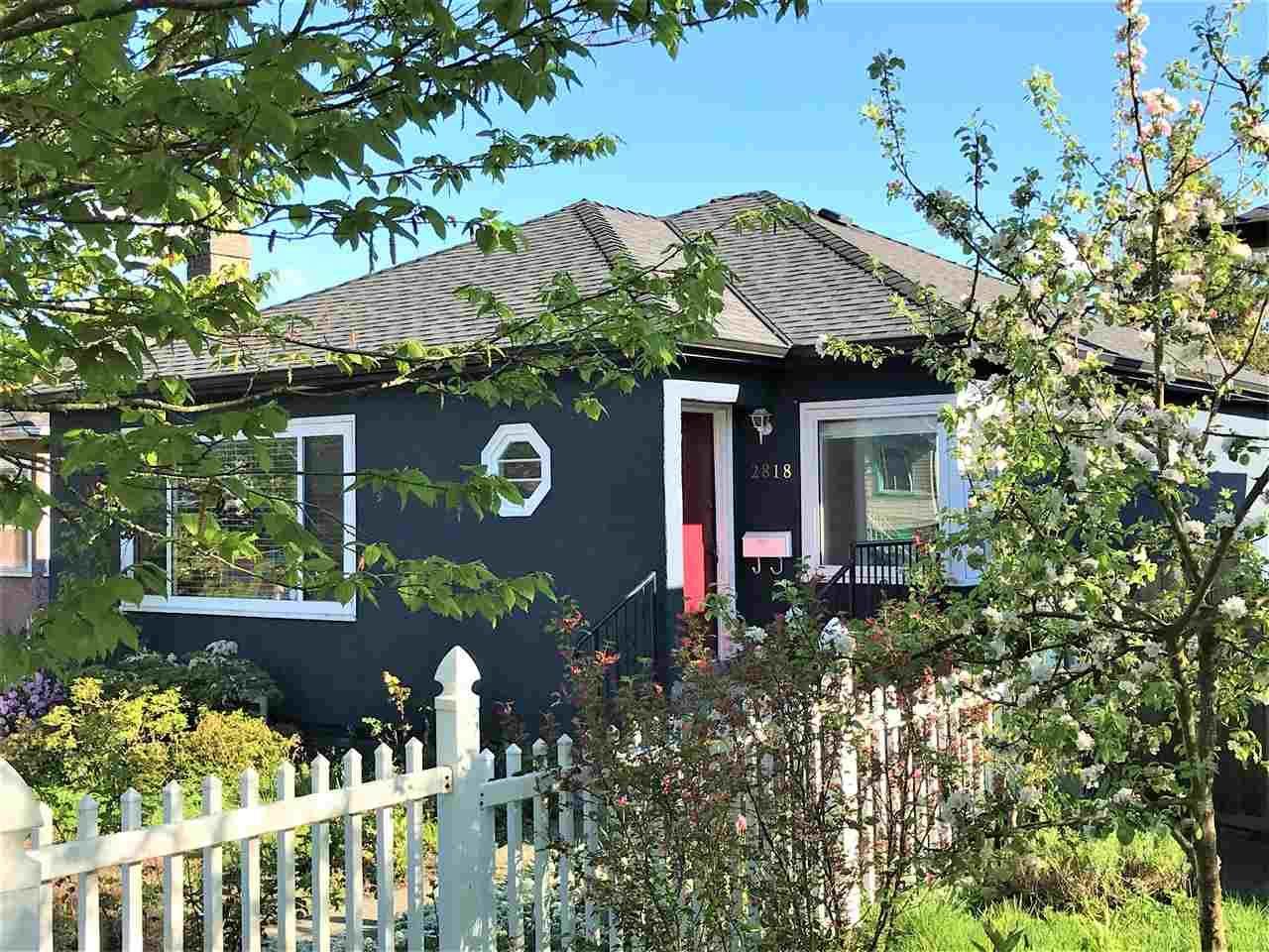 Main Photo: 2818 ADANAC Street in Vancouver: Renfrew VE House for sale (Vancouver East)  : MLS®# R2573635