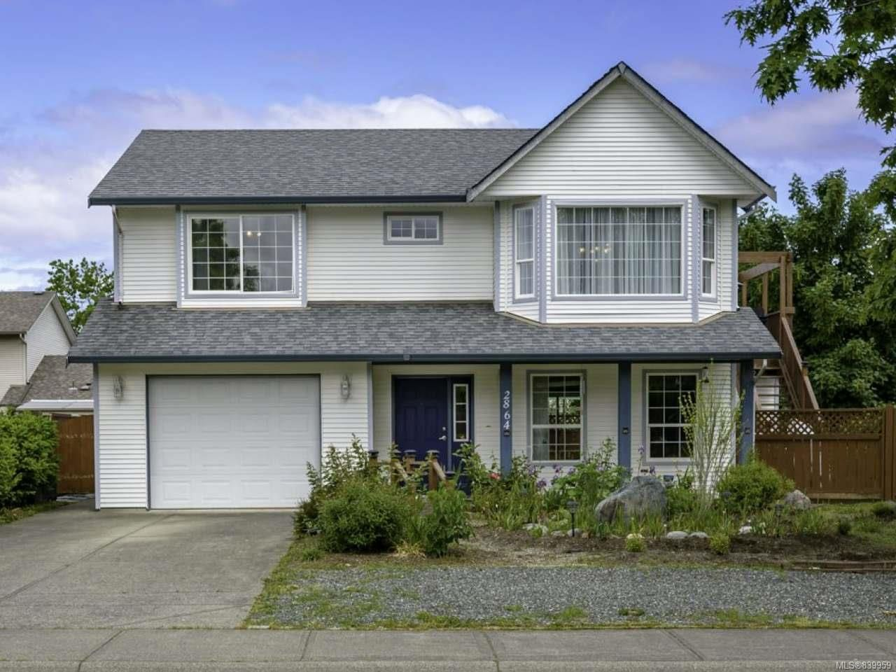 Main Photo: 2864 Elderberry Cres in COURTENAY: CV Courtenay East House for sale (Comox Valley)  : MLS®# 839959