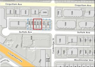 Main Photo: 2023 - 2035 SUFFOLK Avenue in Port Coquitlam: Glenwood PQ Land for sale : MLS®# R2620530