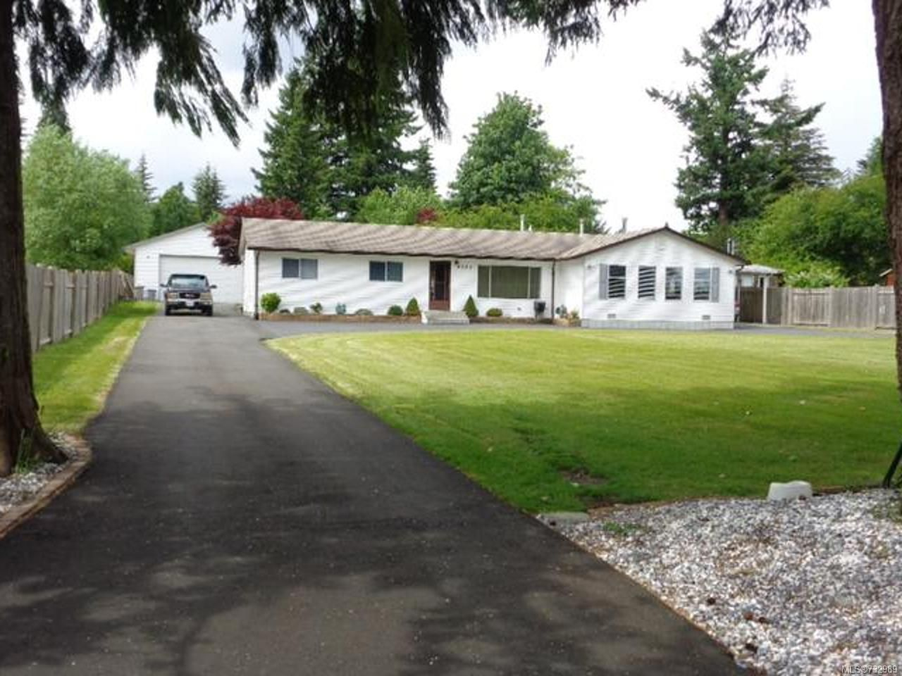 Main Photo: 4034 Barclay Rd in CAMPBELL RIVER: CR Campbell River North House for sale (Campbell River)  : MLS®# 732989