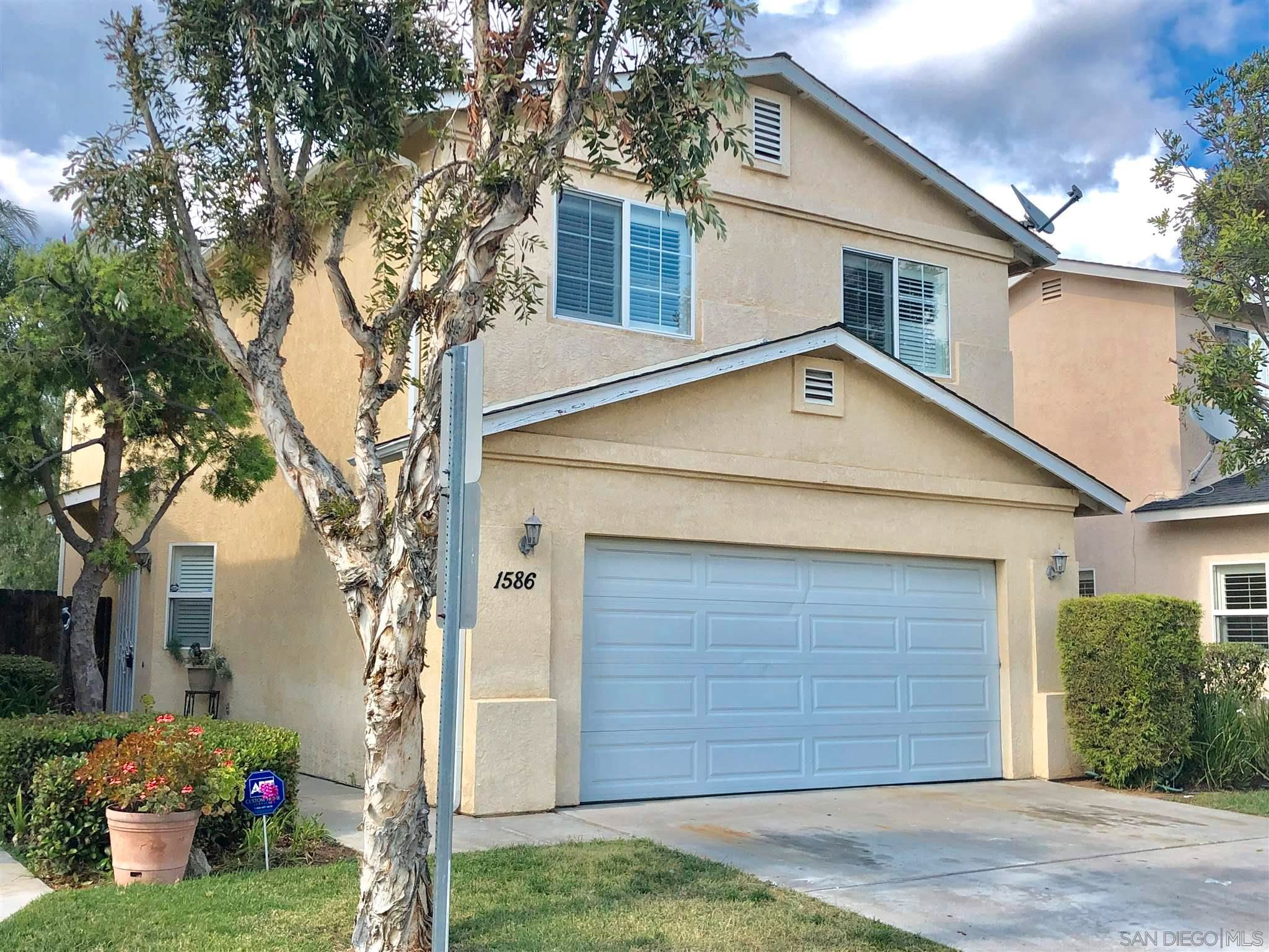 Main Photo: EL CAJON House for sale : 3 bedrooms : 1586 Rebecca Ln