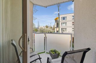 """Photo 15: 202 1515 E 6TH Avenue in Vancouver: Grandview Woodland Condo for sale in """"Woodland Terrace"""" (Vancouver East)  : MLS®# R2571268"""