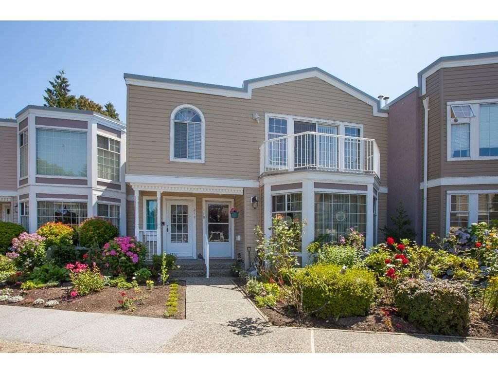 """Main Photo: 206 9540 COOK Street in Chilliwack: Chilliwack N Yale-Well Townhouse for sale in """"Rose Arbour"""" : MLS®# R2090667"""