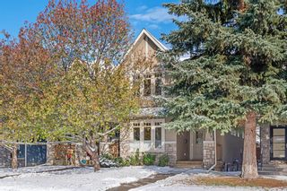 Photo 1: 2214 Broadview Road NW in Calgary: West Hillhurst Semi Detached for sale : MLS®# A1042467
