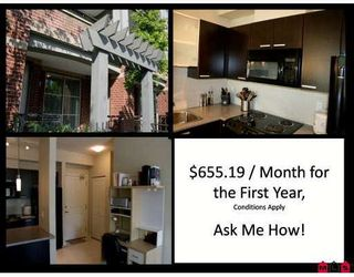 "Photo 1: 112 10455 134TH Street in Surrey: Whalley Condo for sale in ""D'COR"" (North Surrey)  : MLS®# F2905207"