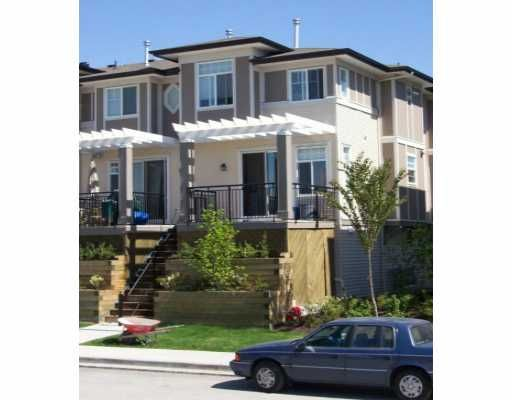 "Main Photo: 34 1010 EWEN AV in New Westminster: Queensborough Townhouse for sale in ""WINDSOR MEWS"" : MLS®# V535523"