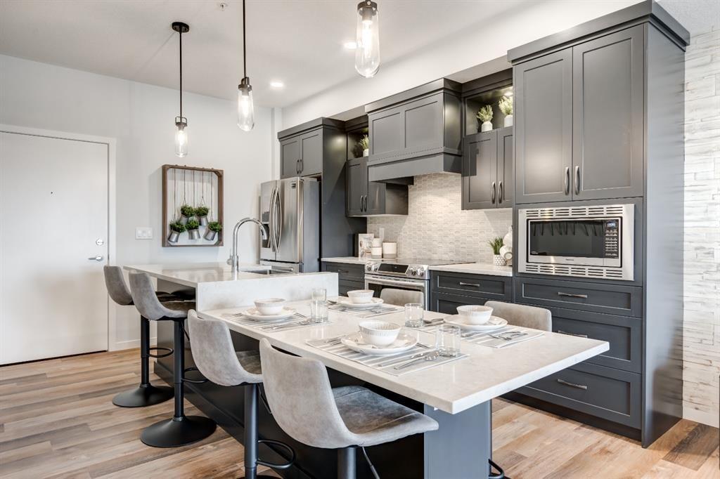 Main Photo: 109 80 Carrington Plaza NW in Calgary: Carrington Apartment for sale : MLS®# A1023852