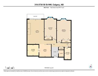 Photo 36: 310 3730 50 Street NW in Calgary: Varsity Apartment for sale : MLS®# A1148662