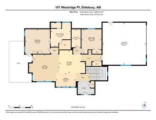 Photo 33: 101 Westridge Place: Didsbury Detached for sale : MLS®# A1096532
