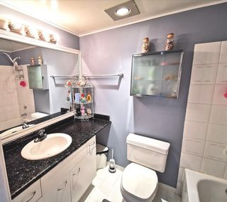 """Photo 10: 301 1180 PINETREE Way in Coquitlam: North Coquitlam Condo for sale in """"FRONTENAC TOWER"""" : MLS®# R2386668"""