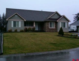 Photo 1: 9983 JADE Place in Chilliwack: Rosedale Popkum House for sale (Rosedale)  : MLS®# H1000048