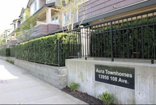 Photo 1: 133 13958 108 Avenue in Surrey: Whalley Townhouse for sale (North Surrey)  : MLS®# R2099199