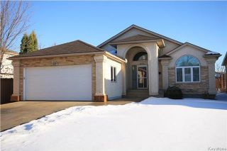 Photo 1: 205 Barlow Crescent in Winnipeg: River Park South Residential for sale (2F)  : MLS®# 1729915
