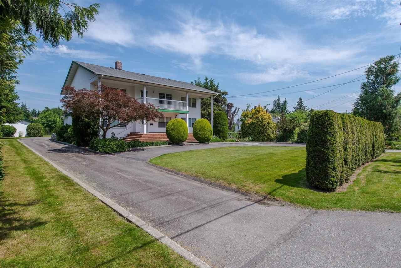 Main Photo: 46339 HOPE RIVER Road in Chilliwack: Fairfield Island House for sale : MLS®# R2415618