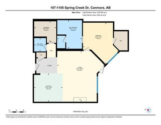 Photo 28: 107 1105 Spring Creek Drive: Canmore Apartment for sale : MLS®# A1104158