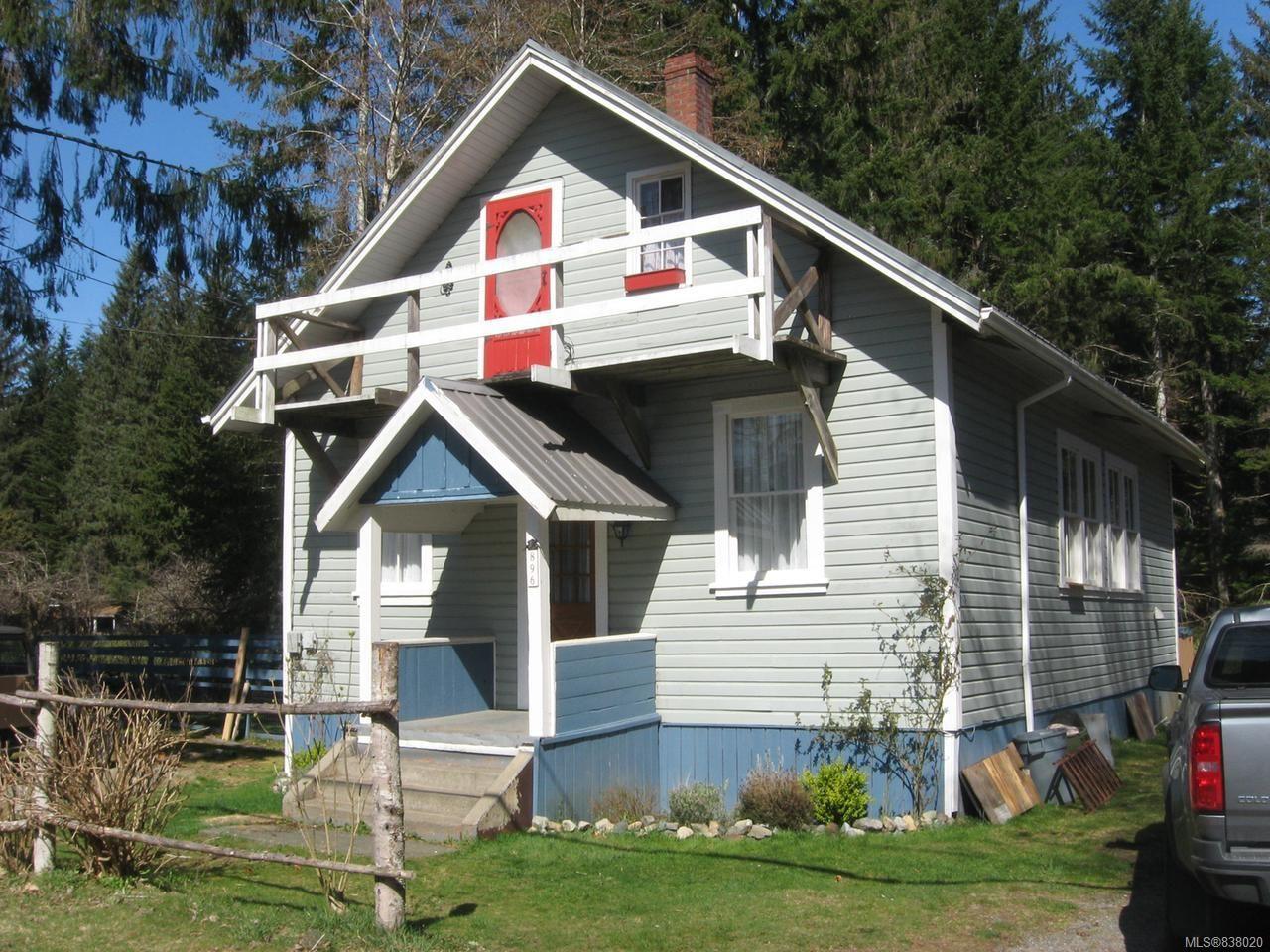 Main Photo: 896 Sayward Rd in SAYWARD: NI Kelsey Bay/Sayward House for sale (North Island)  : MLS®# 838020