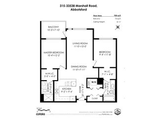 """Photo 32: 315 33538 MARSHALL Road in Abbotsford: Central Abbotsford Condo for sale in """"The Crossing"""" : MLS®# R2569081"""