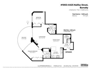 Photo 36: 1003 4425 HALIFAX Street in Burnaby: Brentwood Park Condo for sale (Burnaby North)  : MLS®# R2625845