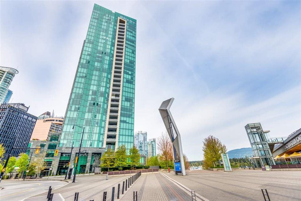 "Main Photo: 1203 277 THURLOW Street in Vancouver: Coal Harbour Condo for sale in ""THREE HARBOUR GREEN"" (Vancouver West)  : MLS®# R2517768"