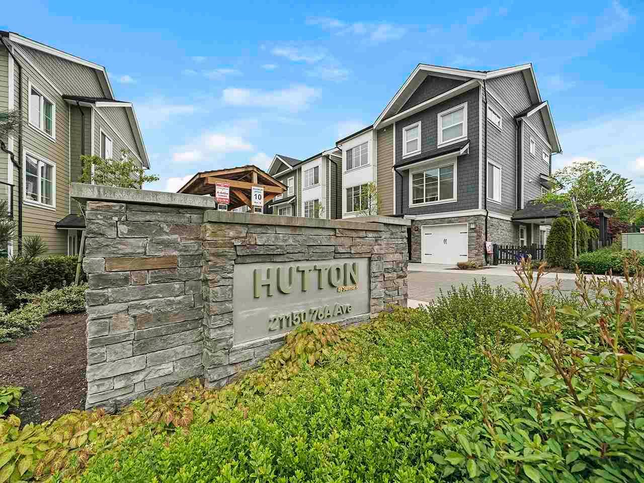 """Main Photo: 16 21150 76A Avenue in Langley: Willoughby Heights Townhouse for sale in """"Hutton"""" : MLS®# R2582993"""
