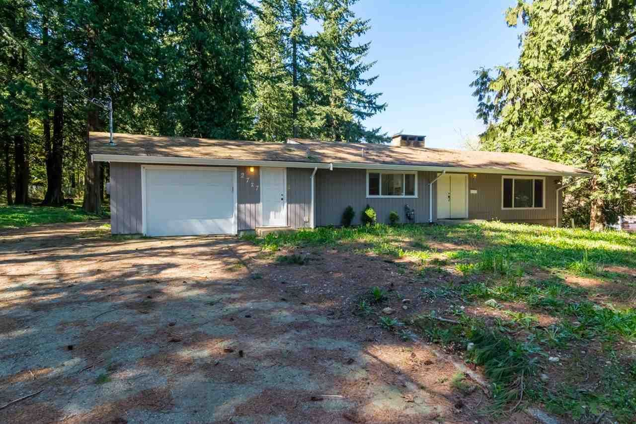 Main Photo: 2727 176 Street in Surrey: Grandview Surrey House for sale (South Surrey White Rock)  : MLS®# R2063796