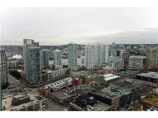 """Photo 10: 3007 939 HOMER Street in Vancouver: Downtown VW Condo for sale in """"THE PINNACLE"""" (Vancouver West)  : MLS®# V873938"""