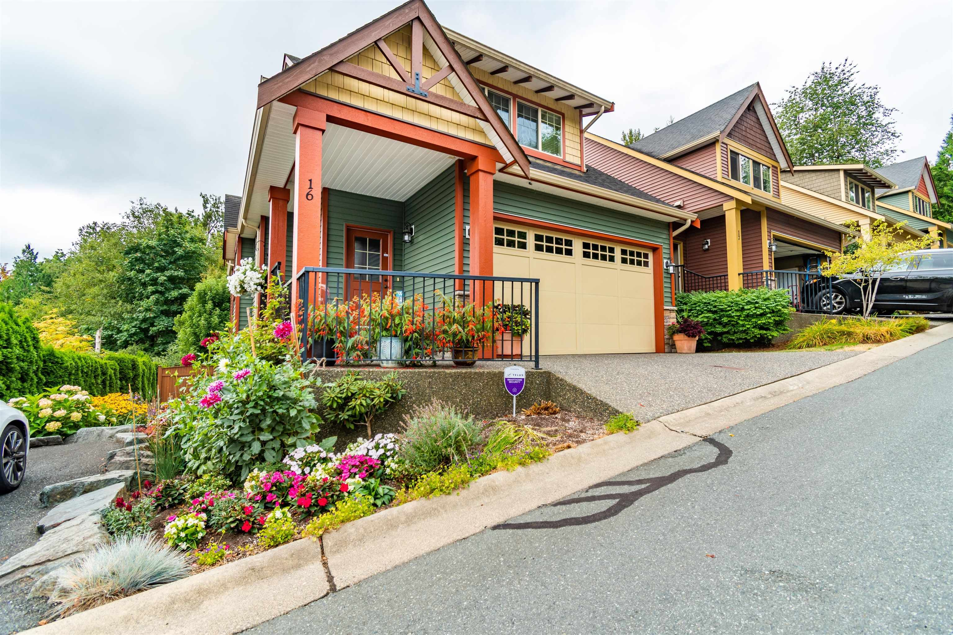 """Main Photo: 16 36169 LOWER SUMAS MOUNTAIN Road in Abbotsford: Abbotsford East Townhouse for sale in """"Junction Creek"""" : MLS®# R2610140"""