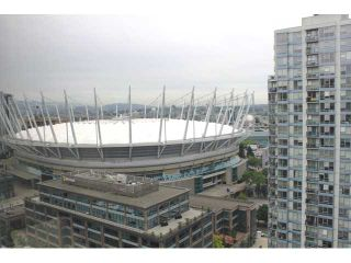 """Photo 3: 2802 930 CAMBIE Street in Vancouver: Yaletown Condo for sale in """"PACIFIC LANDMARK II"""" (Vancouver West)  : MLS®# V1072041"""