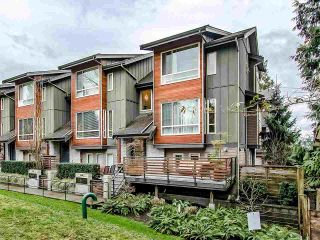 """Photo 1: 16 897 PREMIER Street in North Vancouver: Lynnmour Townhouse for sale in """"Legacy @ Nature's Edge"""" : MLS®# R2441347"""