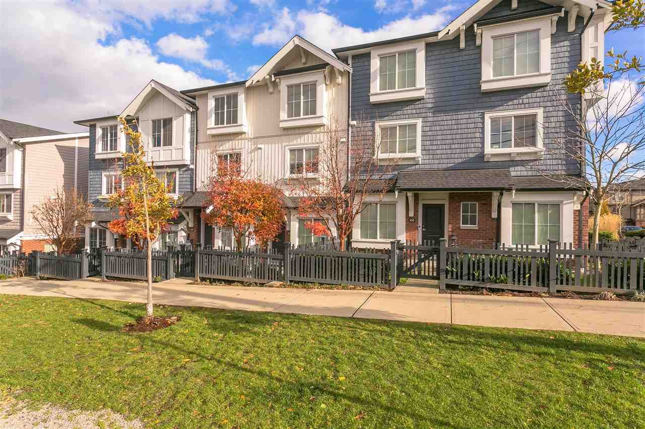 Main Photo: 109 14833 61 Ave. in Surrey: Sullivan Station Townhouse for sale : MLS®# R2224306