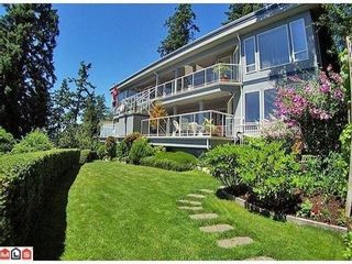 Photo 1: 14884 HARDIE Ave in South Surrey White Rock: White Rock Home for sale ()  : MLS®# F1105489