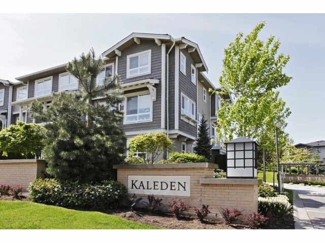 """Main Photo: 133 2729 158TH Street in Surrey: Grandview Surrey Townhouse for sale in """"KALEDEN"""" (South Surrey White Rock)  : MLS®# F1411396"""