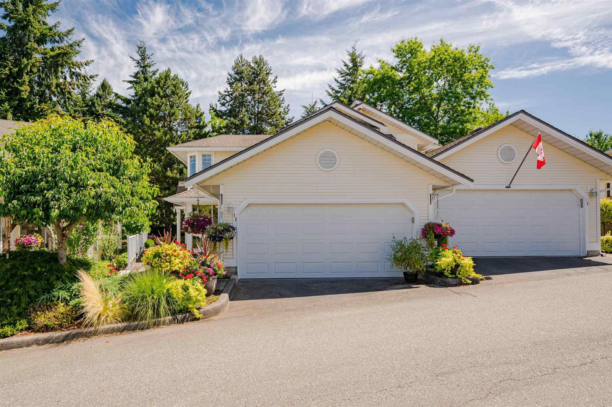 """Main Photo: 12 8737 212 Street in Langley: Walnut Grove Townhouse for sale in """"Chartwell Green"""" : MLS®# R2607047"""