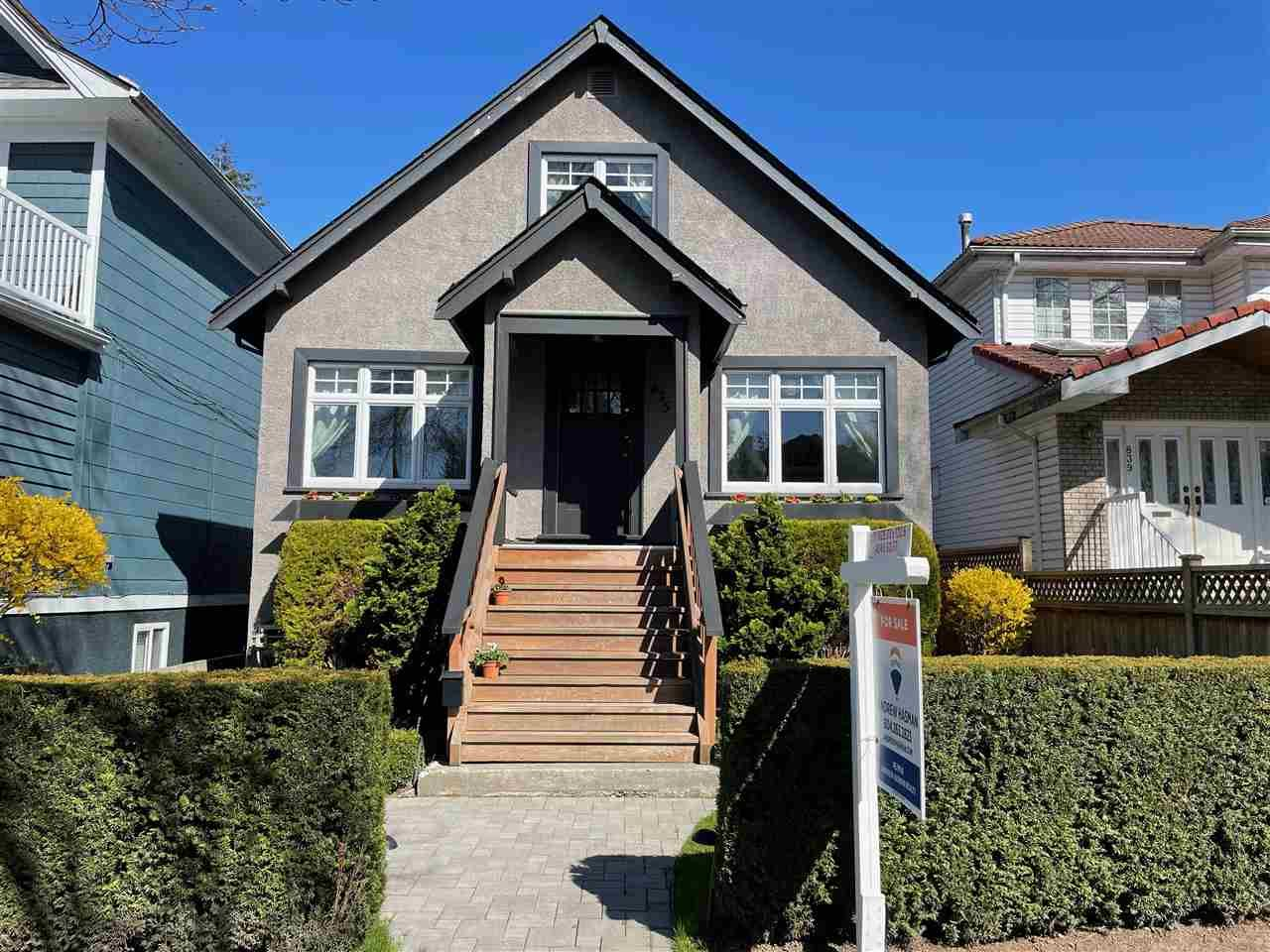 Main Photo: 835 E 27TH Avenue in Vancouver: Fraser VE House for sale (Vancouver East)  : MLS®# R2560281