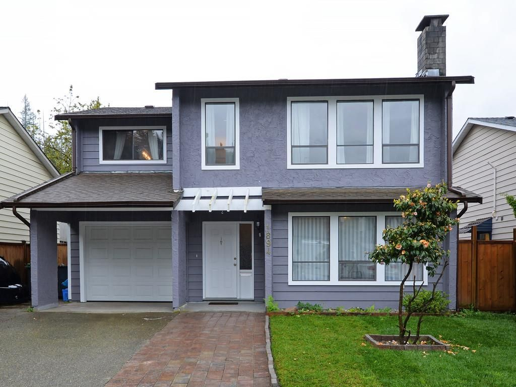 Main Photo: 1894 METCALFE Way in Coquitlam: River Springs House for sale : MLS®# R2164154