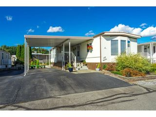 """Photo 2: 157 27111 0 Avenue in Langley: Aldergrove Langley Manufactured Home for sale in """"Pioneer Park"""" : MLS®# R2616701"""