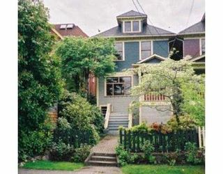 Main Photo: 42 W 10TH AV in Vancouver: Mount Pleasant VW House for sale (Vancouver West)  : MLS®# V562944