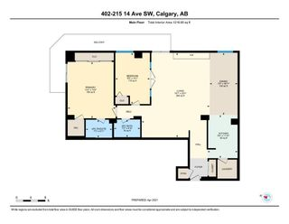 Photo 31: 402 215 14 Avenue SW in Calgary: Beltline Apartment for sale : MLS®# A1095956