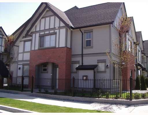 """Main Photo: 18 9688 KEEFER Avenue in Richmond: McLennan North Townhouse for sale in """"CHELSEA ESTATES"""" : MLS®# V762062"""