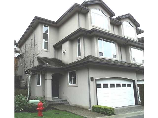 Main Photo: 70 678 CITADEL Drive in Port Coquitlam: Citadel PQ Townhouse for sale : MLS®# V932756