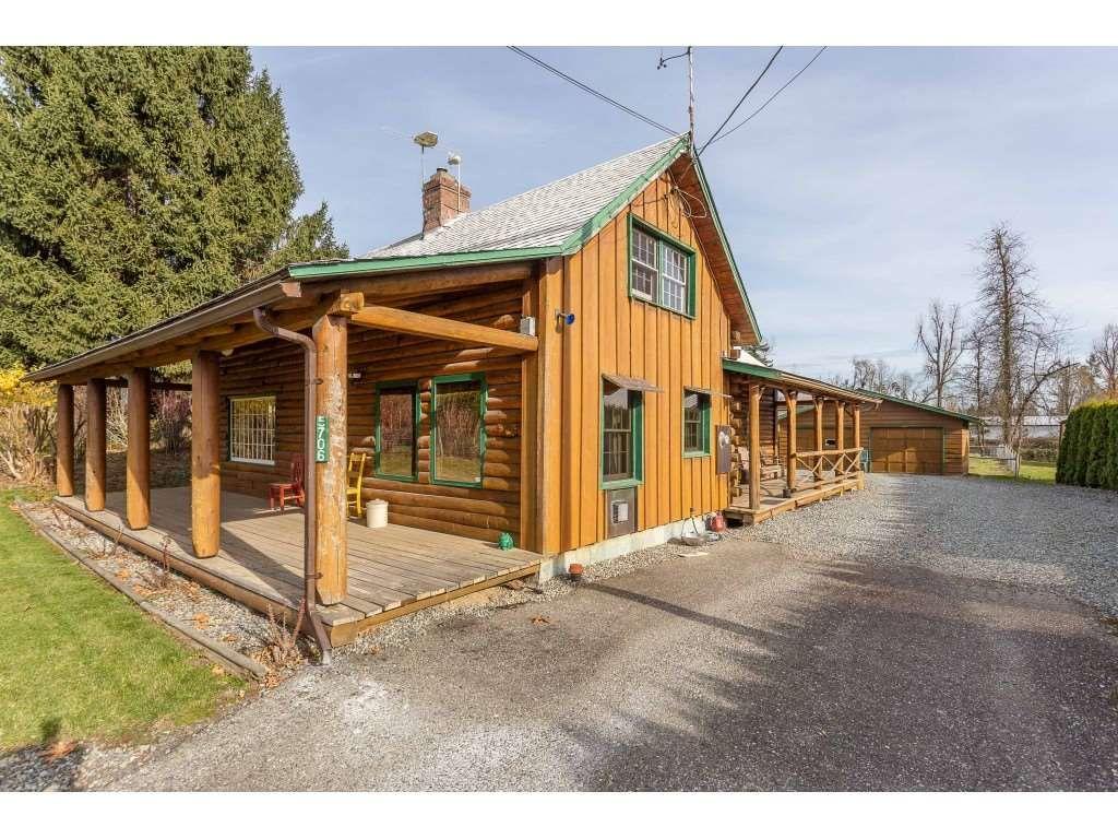 Main Photo: 5706 BRADNER Road in Abbotsford: Bradner House for sale : MLS®# R2418813