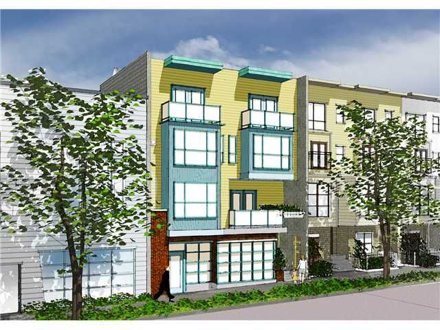 """Main Photo: 206 3736 COMMERCIAL Street in Vancouver: Victoria VE Townhouse for sale in """"Element"""" (Vancouver East)  : MLS®# V855188"""