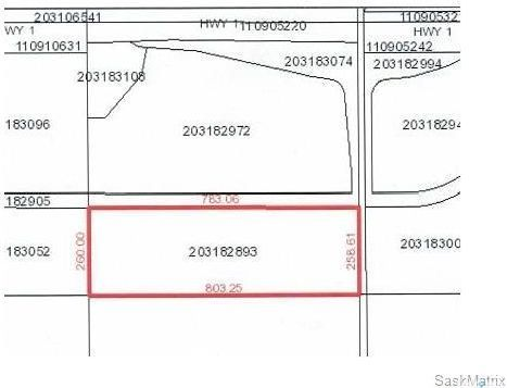 Main Photo: SE 20-17-18-W2 Ext. 15, RM of Edenwold, No. 158 in Edenwold: Lot/Land for sale (Edenwold Rm No. 158)  : MLS®# SK861222