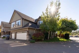 "Photo 1: 33 40750 TANTALUS Road in Squamish: Garibaldi Estates Townhouse for sale in ""Meighan Creek"" : MLS®# R2507590"