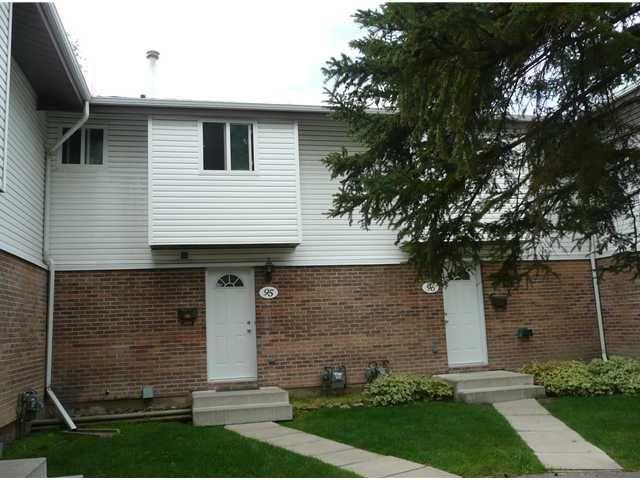 Main Photo: 95 5103 35 Avenue SW in CALGARY: Glenbrook Townhouse for sale (Calgary)  : MLS®# C3489714