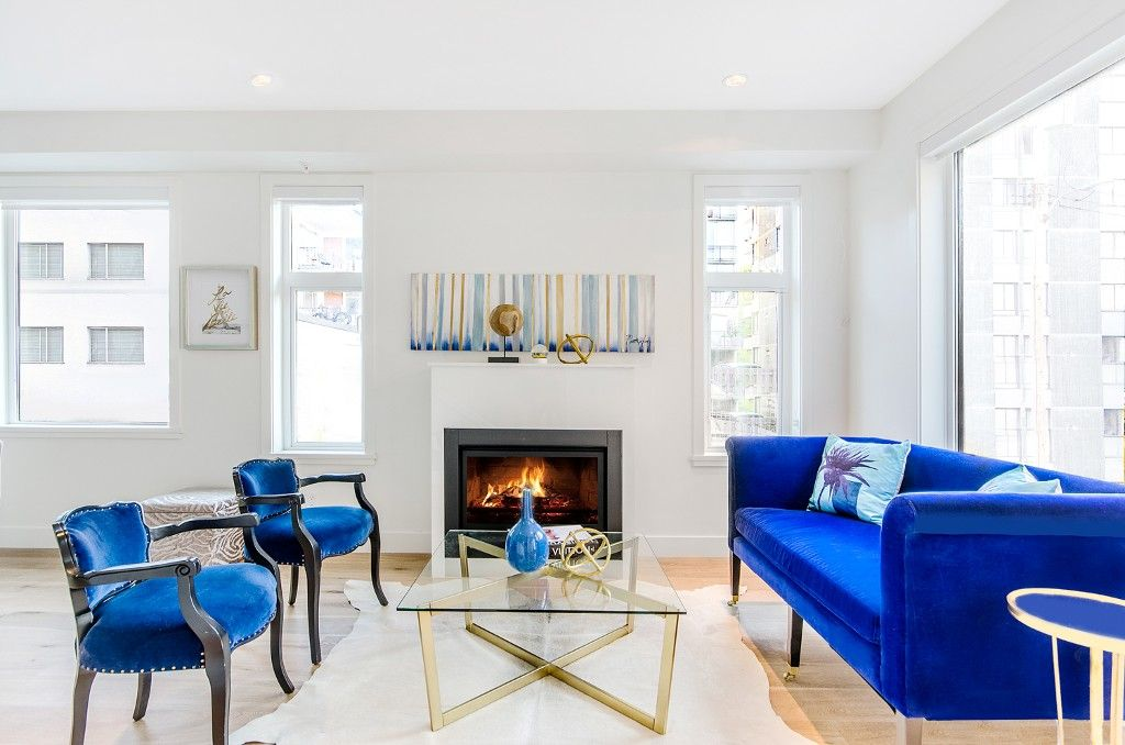 Main Photo: 1078 NICOLA STREET in Vancouver: West End VW Townhouse for sale (Vancouver West)