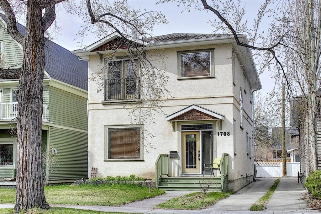 Main Photo: 1708 13 Avenue SW in Calgary: Sunalta Detached for sale : MLS®# A1100494